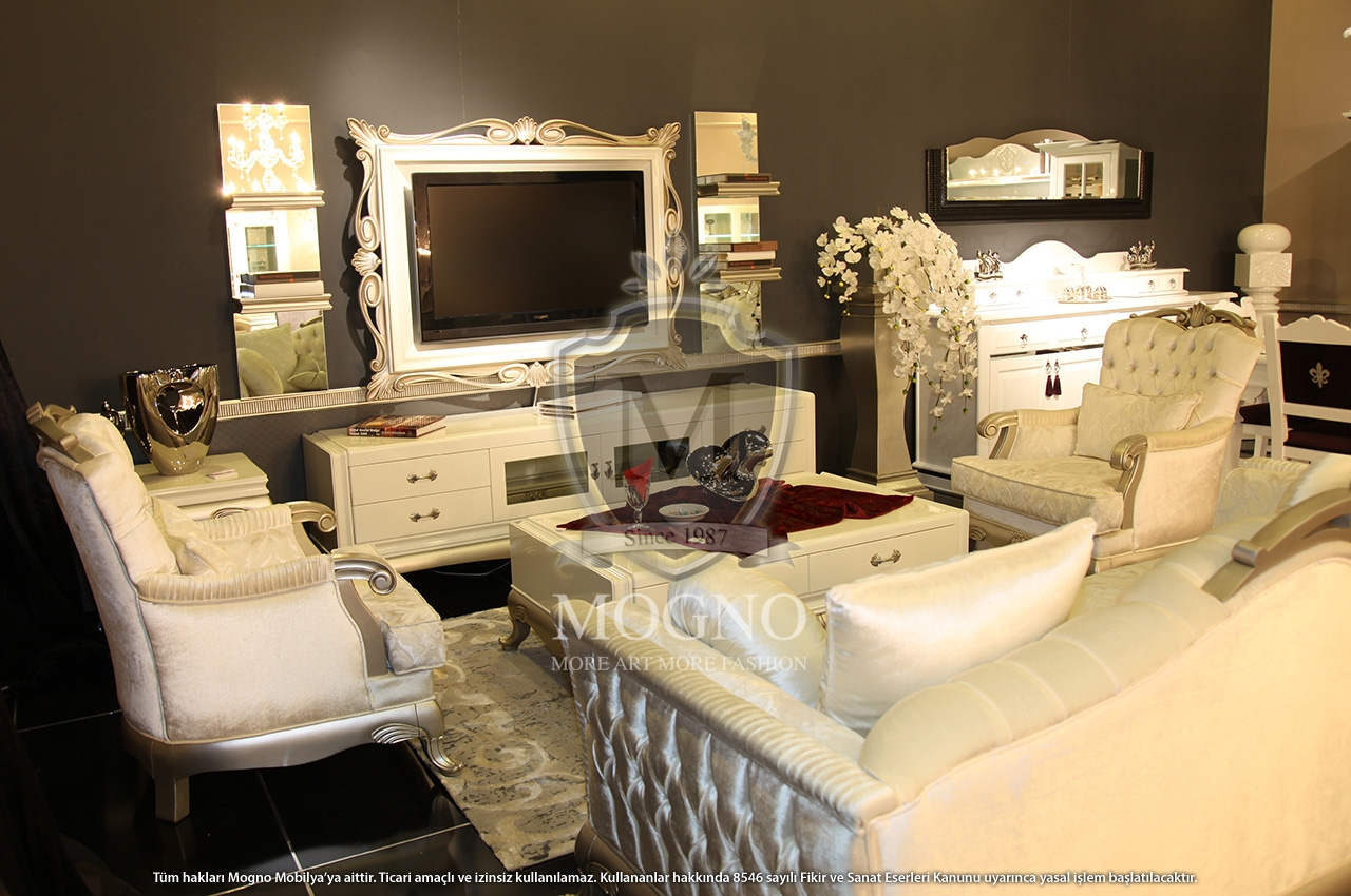 Mogno mobilya masselo living room tv media furniture for Furniture for media room